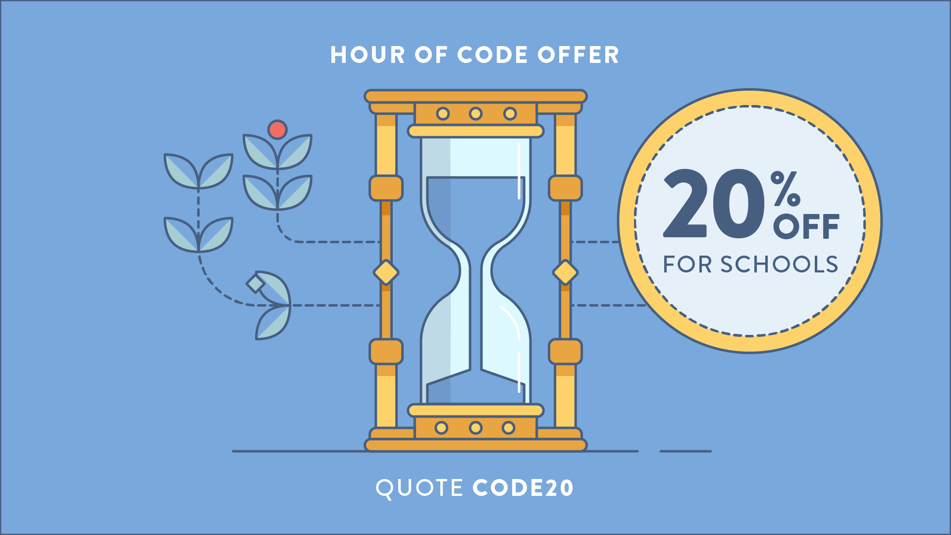 Hour of Code - 20% Special Offer