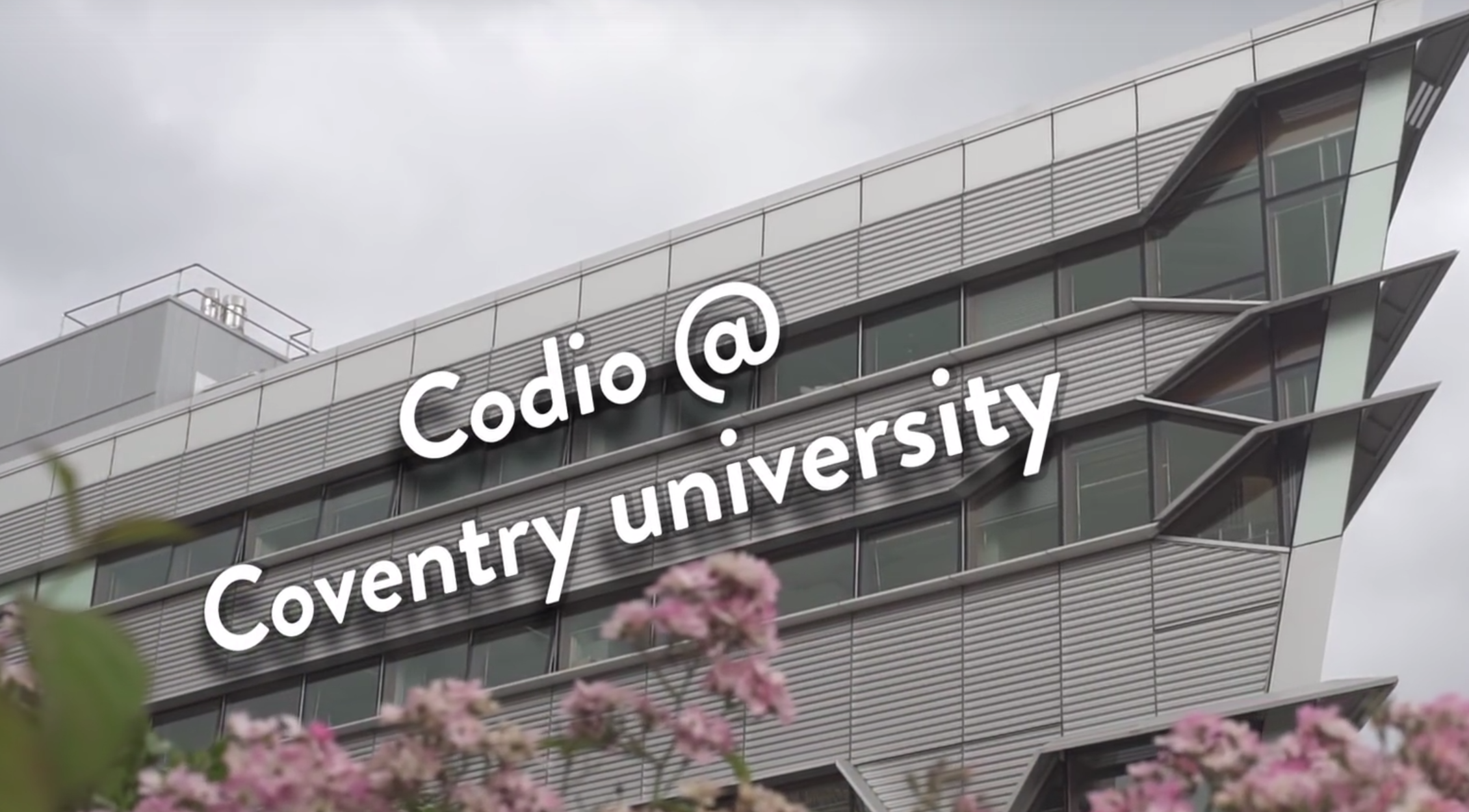 Codio is used at leading University such as Coventry University